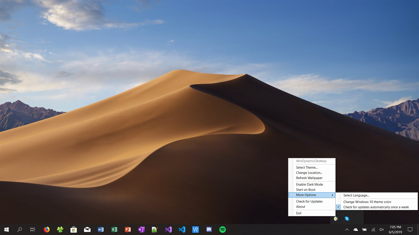 How Windows 10 X Will Dynamically Change Desktop Wallpaper