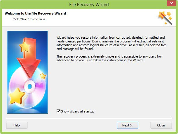 Wizard Recovery