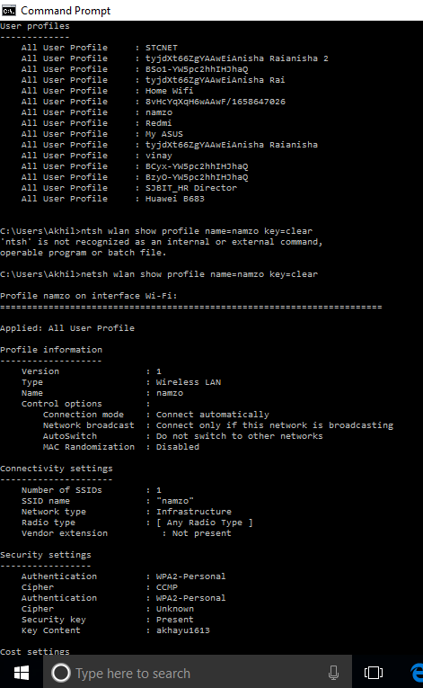 cmd-window-saved-wifi-password