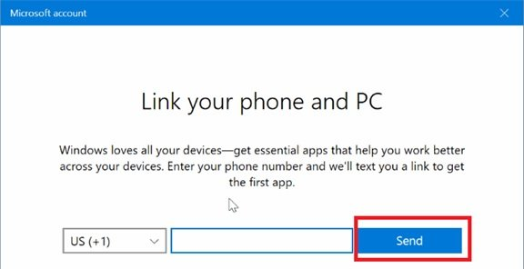 Link Android or iPhone to Windows 10