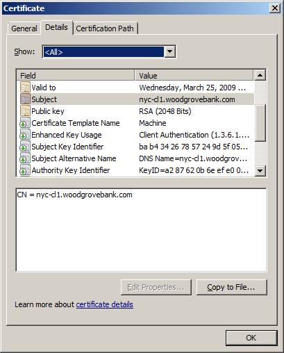 Windows Server 2008 Advanced Certificate Request Wizard « Windows ...