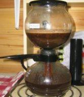 Vacuum coffee machines