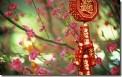 """新年吉祥饰物,中国 (New Year ornament saying """"bring in health and riches"""", China)"""