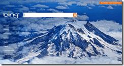bingcloudhomepage thumb Windows Live Clouds Themepack for Windows 7