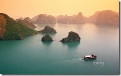 Halong Bay in Quang Ninh province, Vietnam
