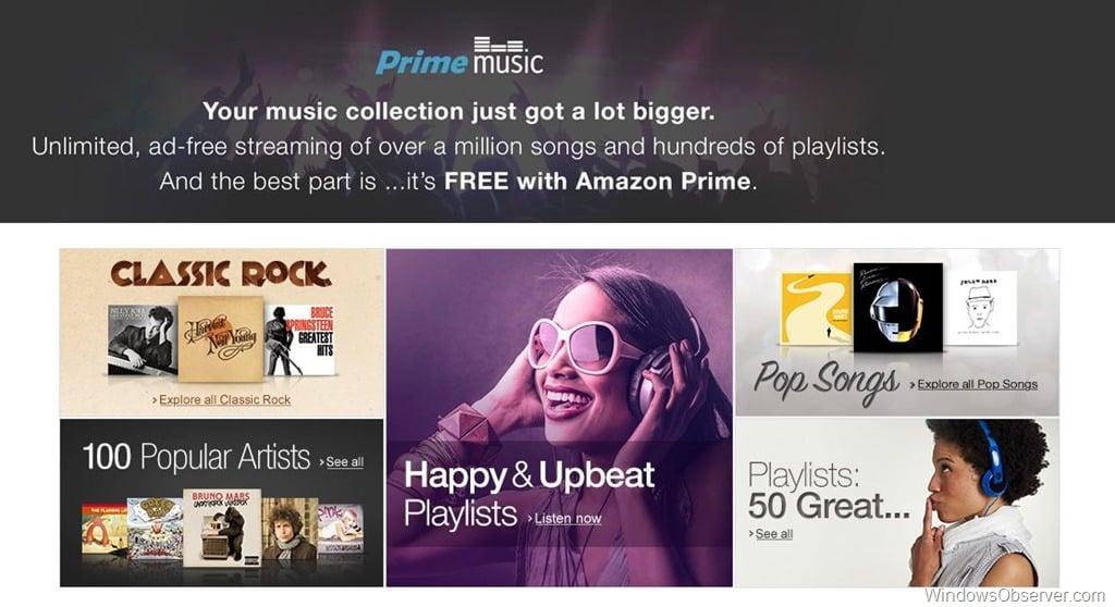 The Gotchas of the Amazon Prime Music Service - WindowsObserver com