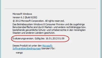 Photo of Testlaufzeit von Windows 8 Consumer Preview herausfinden