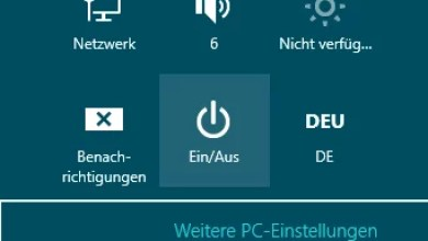 Photo of Windows 8 herunterfahren
