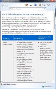 Benutzerkontensteuerung konfigurieren Windows 7 2