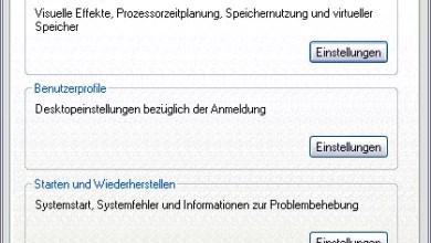 Photo of Speicherort für Temporäre Dateien ändern