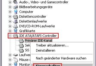 CD/DVD-Laufwerk ist unter Windows XP so langsam 0