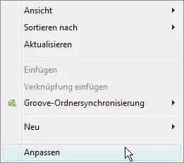 Windows Vista  Hintergrundbilder ändern 0