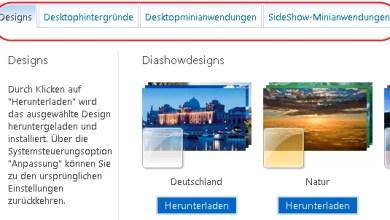 Photo of Designs Diashowdesigns Desktophintergründe SideShow-Anwendungen für Windows 7