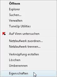 Systemwiederherstellung deaktivieren unter Vista 0
