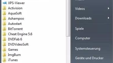 Standardprogramm festlegen für Autostart Windows 7 0