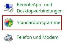 Windows 7 Standardprogramme festlegen 0
