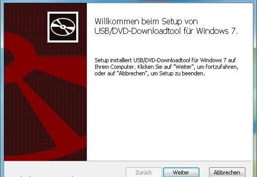 Windows 7 USB/DVD Download Tool 0