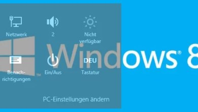 Photo of Kurztipp: Windows 8 Charms-Liste anzeigen