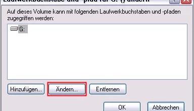 Windows 8 Laufwerksbuchstaben ändern 0