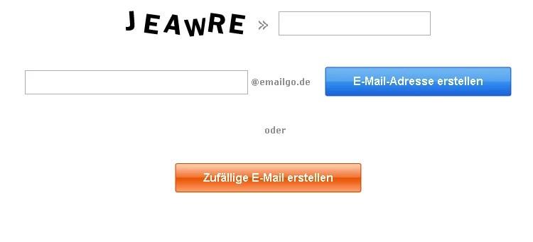 Kostenlose Wegwerf E-Mail gegen Spam 0