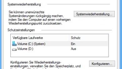 Windows 8 Computerschutz Einstellungen 0