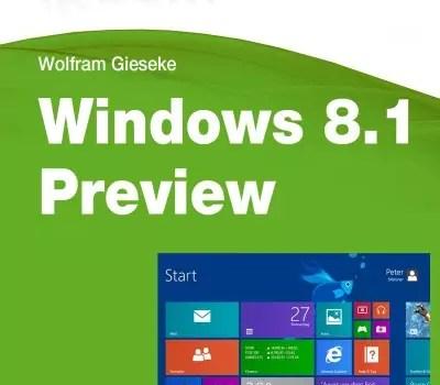 Kostenlos: iKnow Windows 8.1 Preview E-Book 0