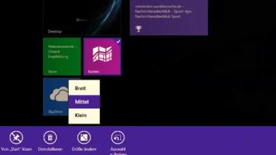 Photo of Windows 8.1 Größe der Kacheln ändern