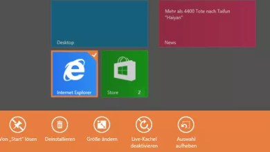 Photo of Windows 8/8.1 Deinstallieren von Apps deaktivieren