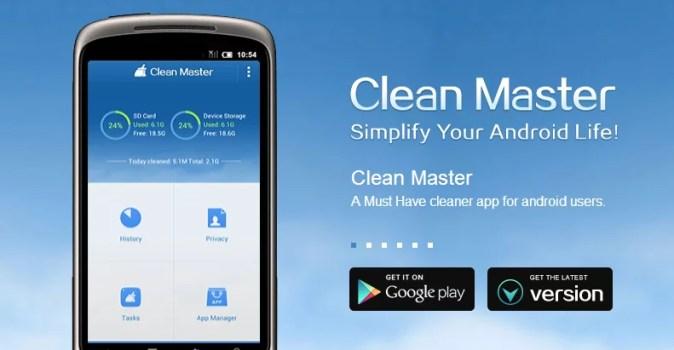 Clean Master räumt ihr Smartphone auf 0
