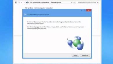 Photo of Heimnetzgruppe -Symbol einfach vom Desktop entfernen