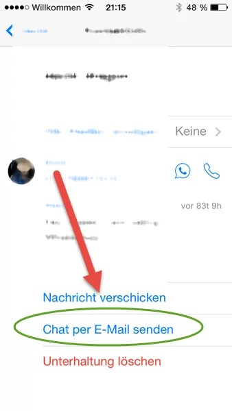 iphone-chat-email-senden