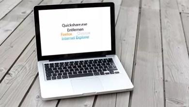 Quickshare.exe Entfernen 0
