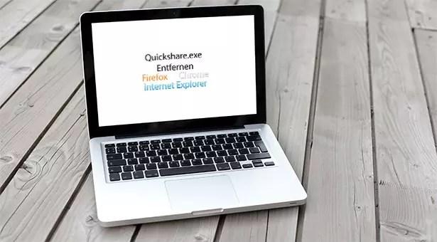 quickshare.exe-entfernen