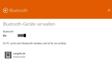 Photo of Bluetooth aktivieren bei Windows 8.1