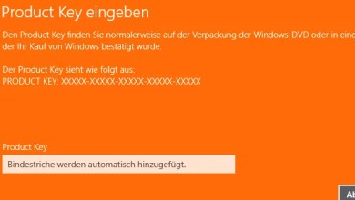 Photo of Product Key Serial ändern bei Windows 8.1