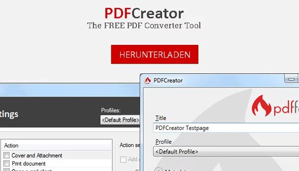 PDF Datei: Schnell und einfach mit PDFCreator erstellen 0