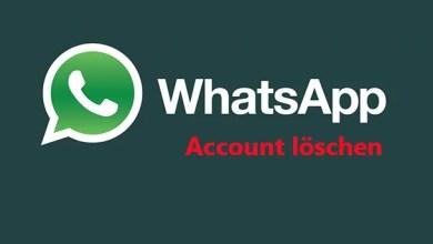 WhatsApp Account kündigen 0