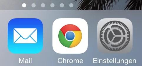 iphone einstellungen