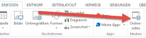 YouTube-Videos in Office Word einfügen