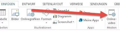 YouTube-Videos in Office Word einfügen