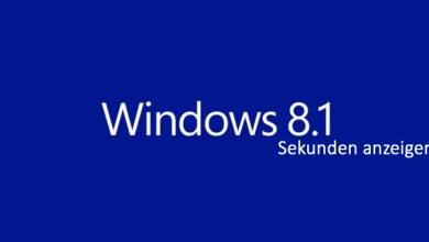 Photo of Windows 8.1 Sekunden in der Taskleiste anzeigen