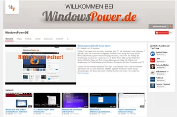 windowspower_de youtube kanal