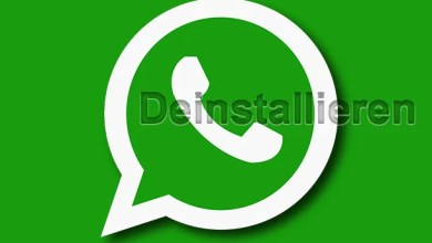 WhatsApp deinstallieren von iPhone, Android und Windows Phone 0