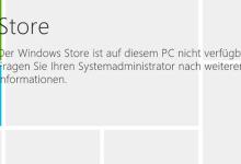 Windows Store deaktivieren unter Windows 8.1 0