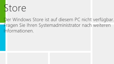 Windows Store deaktivieren unter Windows 8.1 0