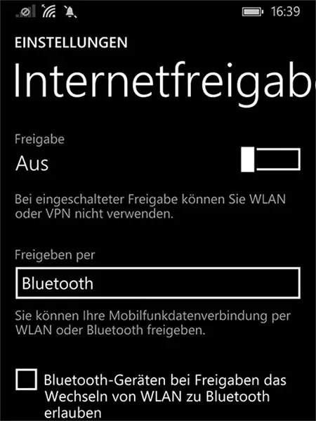 hotspot-windows-phone-Bluetooth