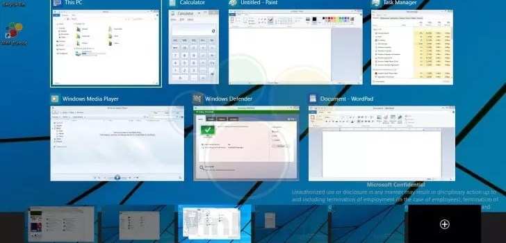 Windows 10 Multi Desktop 0