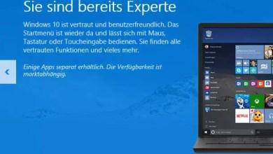 Photo of Windows 10 Upgrade Symbol für Reservierung wird nicht angezeigt, Gründe