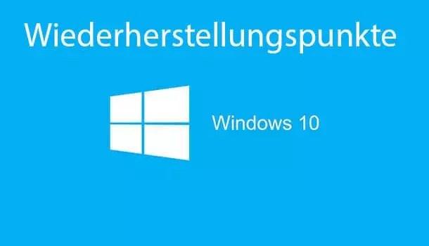 Wiederherstellungspunkte aktivieren deaktivieren bei Windows 10 0
