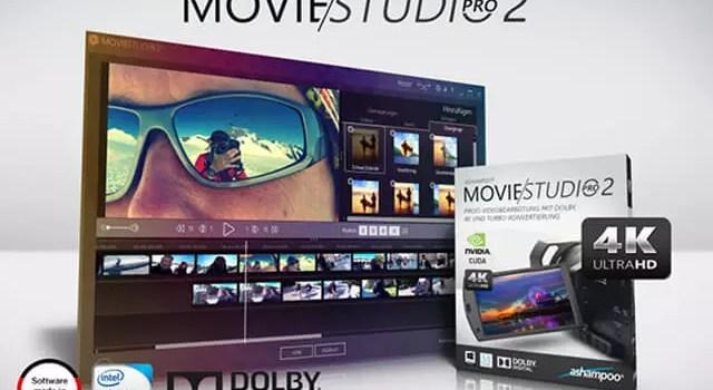 Ashampoo® Movie Studio Pro 2 Profi-Videobearbeitung mit Dolby Digital, 4K und Turbo-Konvertierung 0